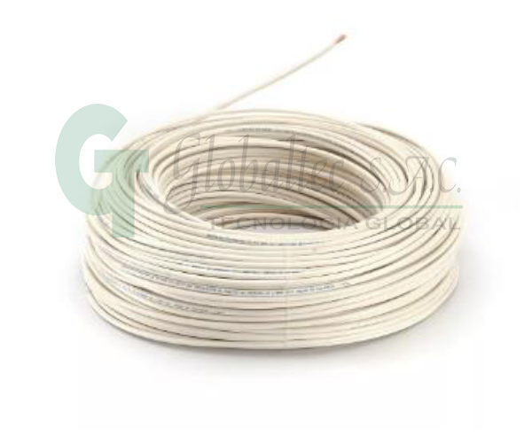 Cable THW 14AWG (CU) 750V 90°C PVC 7H 203691 blanco-  - CENTELSA