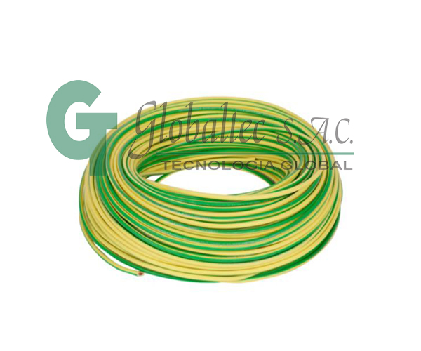 Cable Libre Halogenos(LSOH) EXZHELLENT CPT 2.5mm² (14AWG)Amarillo-Verde - GENERAL CABLE
